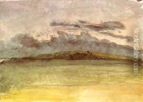 Storm-Clouds: Sunset Oil Painting - Joseph Mallord William Turner