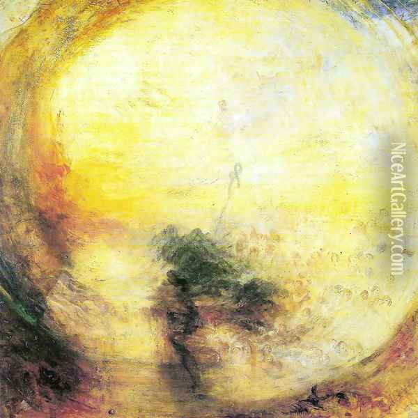 Light and Colou Oil Painting - Joseph Mallord William Turner
