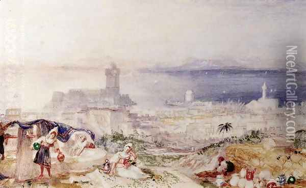 View of Rhodes Oil Painting - Joseph Mallord William Turner