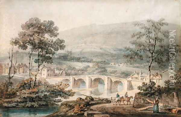 Matlock, 1794 Oil Painting - Joseph Mallord William Turner