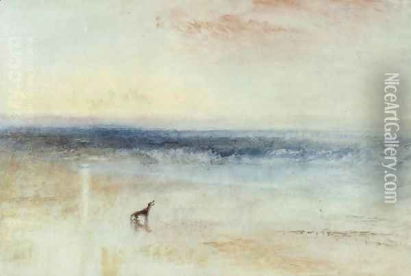 The tomorrow after the shipwreck Oil Painting - Joseph Mallord William Turner