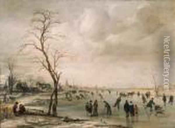A Winter Landscape With 