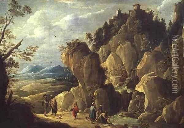 The Gypsies Oil Painting - David The Younger Teniers