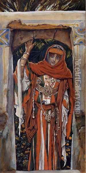 Mary Magdalene before Her Conversion Oil Painting - James Jacques Joseph Tissot
