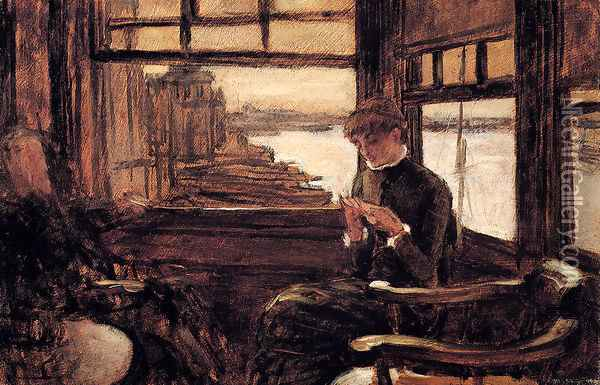 Study For The Prodigal Son In Modern Life: The Departure Oil Painting - James Jacques Joseph Tissot