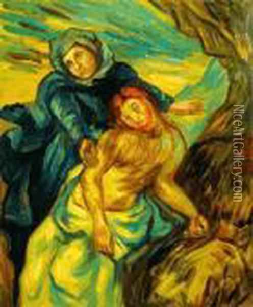 Pieta Oil Painting - Vincent Van Gogh