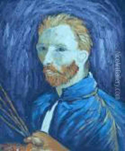 Self Portrait Oil Painting - Vincent Van Gogh