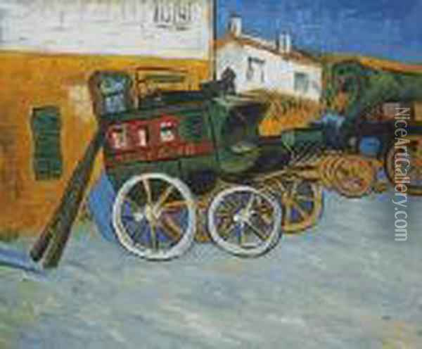 Tarascon Diligence Oil Painting - Vincent Van Gogh