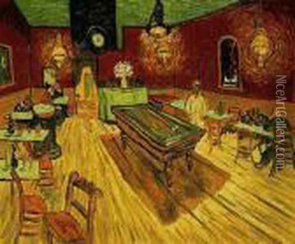 The Night Cafe Oil Painting - Vincent Van Gogh
