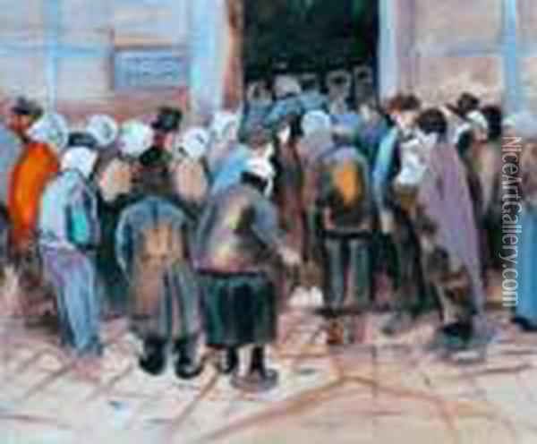 The State Lottery Office Oil Painting - Vincent Van Gogh
