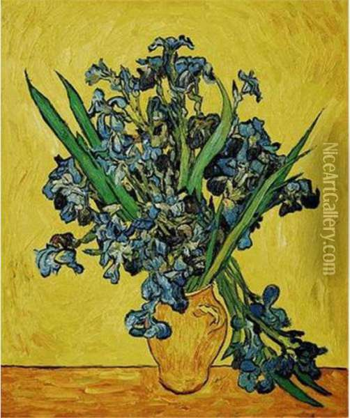 Field Of Poppies Oil Painting - Vincent Van Gogh