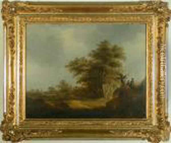 Untitled Oil Painting - Jan van Goyen