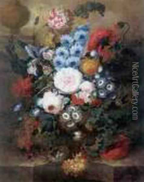 Still Life Oil Painting - Jan van Os