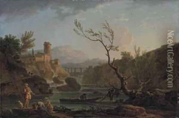 A Capriccio View Of Montferrat 