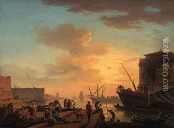 Le Soir: A Mediterranean Harbour
