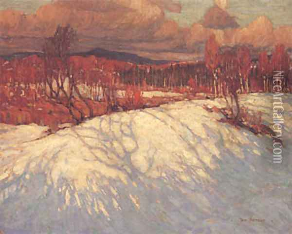 Afternoon, Algonquin Park Oil Painting - Tom Thomson