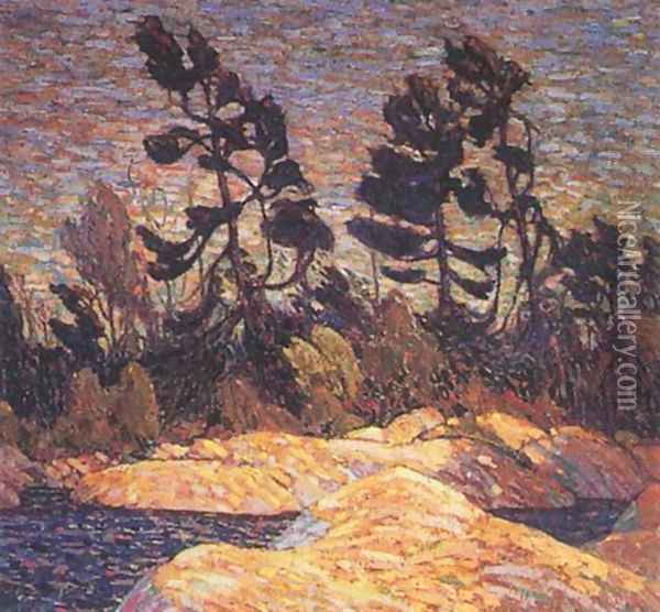 Byng Inlet - Georgian Bay Oil Painting - Tom Thomson