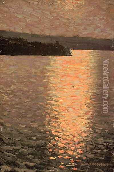 Stormy Evening Oil Painting - Tom Thomson