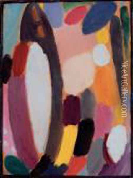 Variation Oil Painting - Alexei Jawlensky