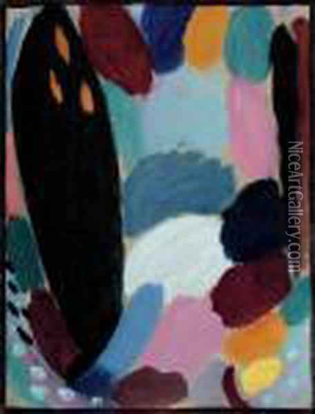 Variation: Winter Oil Painting - Alexei Jawlensky