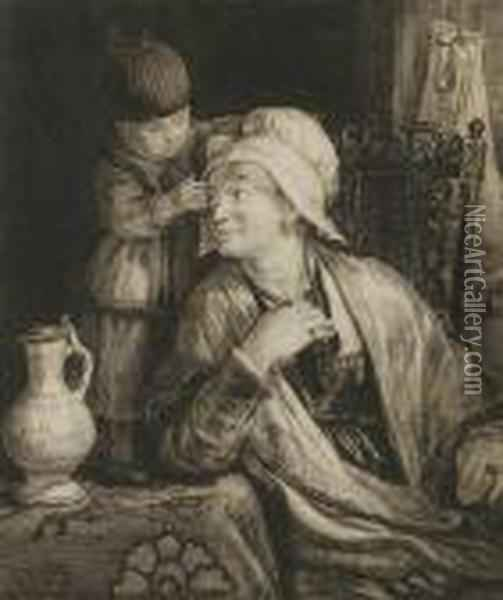 Mother And Child Oil Painting - Sir David Wilkie