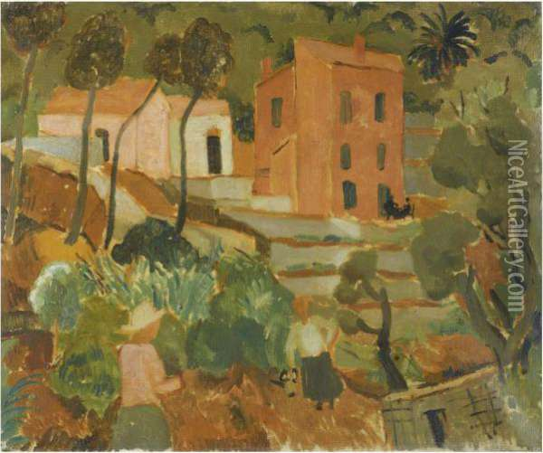 South Of France Oil Painting - Christopher Wood