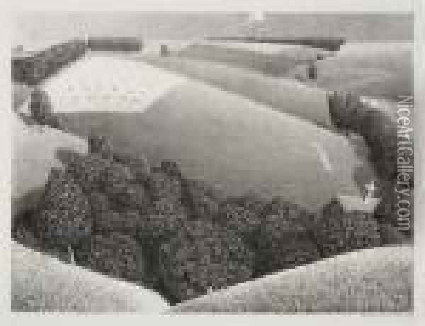 July 15th Oil Painting - Grant Wood