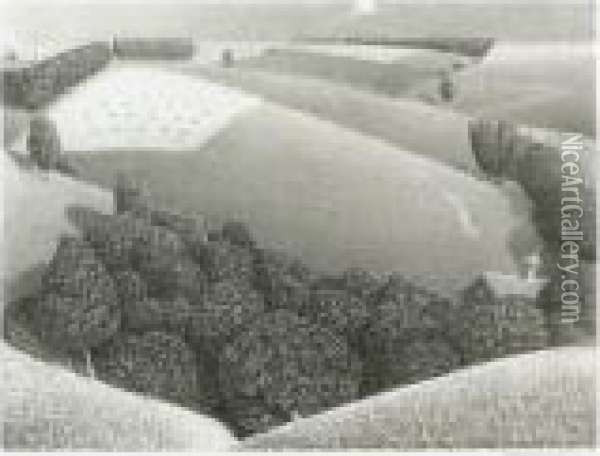 July Fifteenth (c. W-14) Oil Painting - Grant Wood