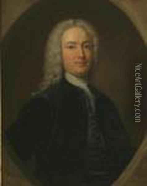 A Portrait Of The Earl Of Mansfield Oil Painting - John Wootton