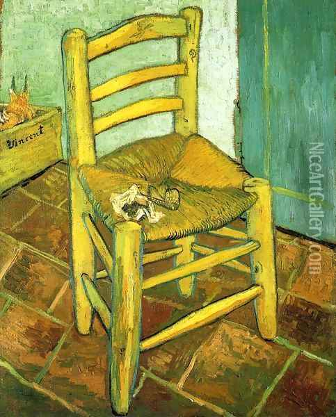 Van Gogh's Chair Oil Painting - Vincent Van Gogh
