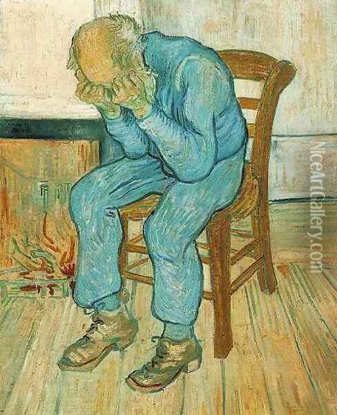 Old Man In Sorrow (On The Threshold Of Eternity) Oil Painting - Vincent Van Gogh