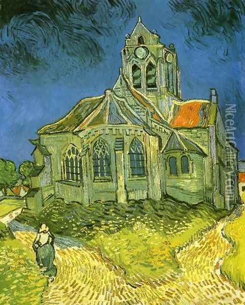 Church at Auvers Oil Painting - Vincent Van Gogh