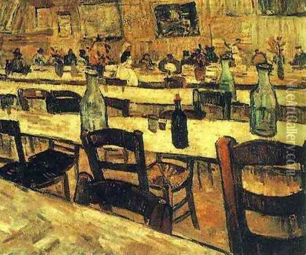 Interior Of A Restaurant In Arles Oil Painting - Vincent Van Gogh