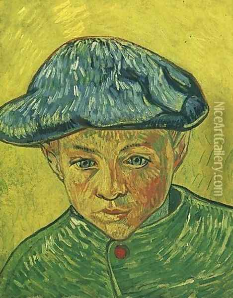 Portrait Of Camille Roulin Oil Painting - Vincent Van Gogh
