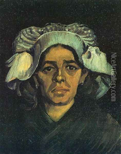 Peasant Woman, Portrait of Gordina de Groot Oil Painting - Vincent Van Gogh