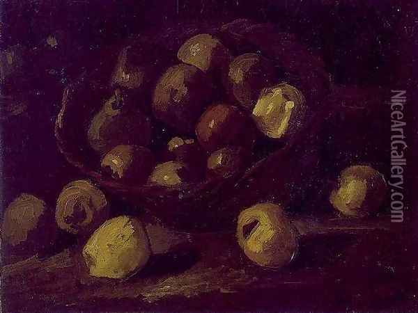 Basket Of Apples Oil Painting - Vincent Van Gogh