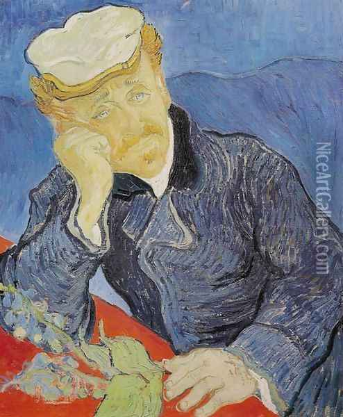 Dr. Paul Gachet Oil Painting - Vincent Van Gogh