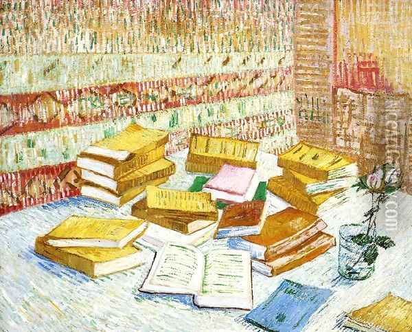 Still Life with Books,