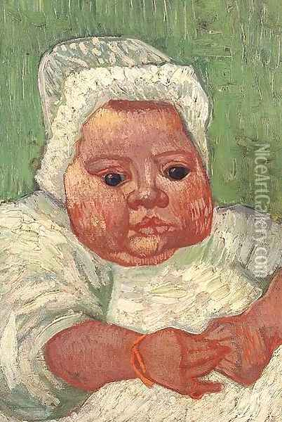 Baby Marcelle Roulin The II Oil Painting - Vincent Van Gogh