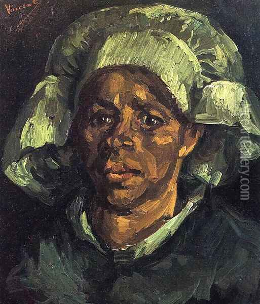 Peasant Woman, Portrait of Gordina de Groot I Oil Painting - Vincent Van Gogh