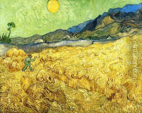 The Reaper I Oil Painting - Vincent Van Gogh