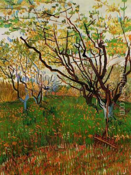 Orchard In Blossom III Oil Painting - Vincent Van Gogh