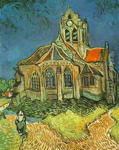 The Church At Auvers Oil Painting - Vincent Van Gogh