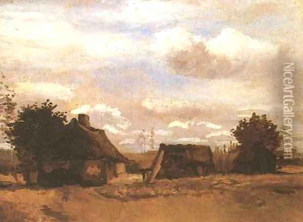 Cottage II Oil Painting - Vincent Van Gogh