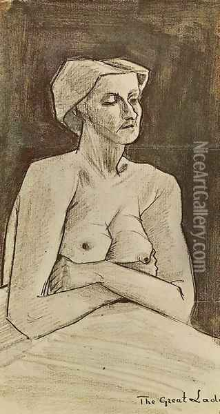 Great Lady Oil Painting - Vincent Van Gogh