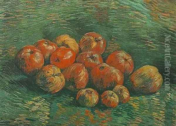 Still Life With Apples Oil Painting - Vincent Van Gogh