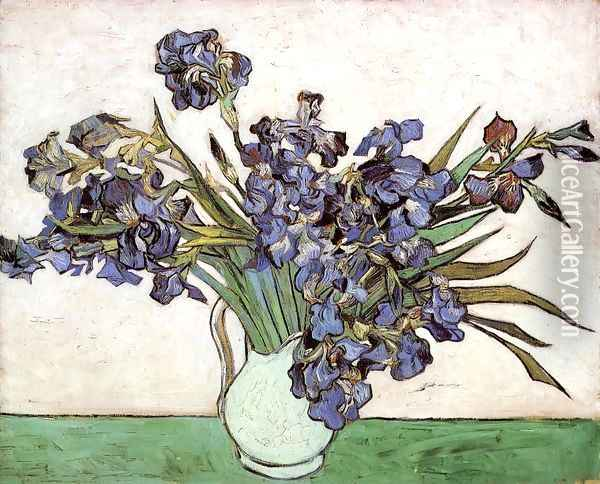 Irises I Oil Painting - Vincent Van Gogh