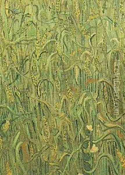 Ears Of Wheat Oil Painting - Vincent Van Gogh
