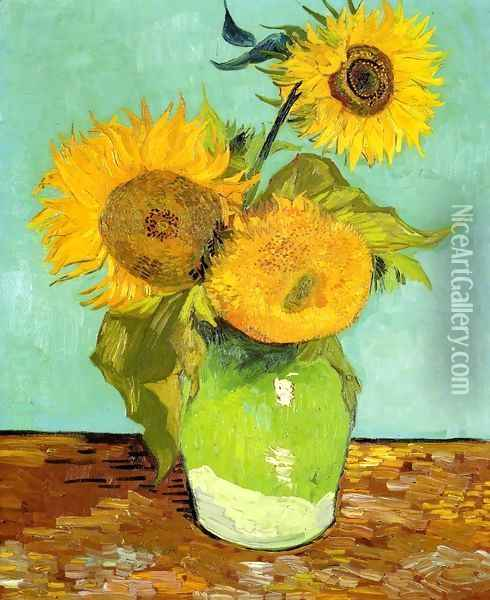 Sunflowers 2 Oil Painting - Vincent Van Gogh