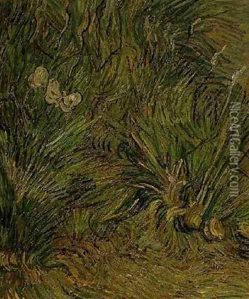 Two White Butterflies Oil Painting - Vincent Van Gogh